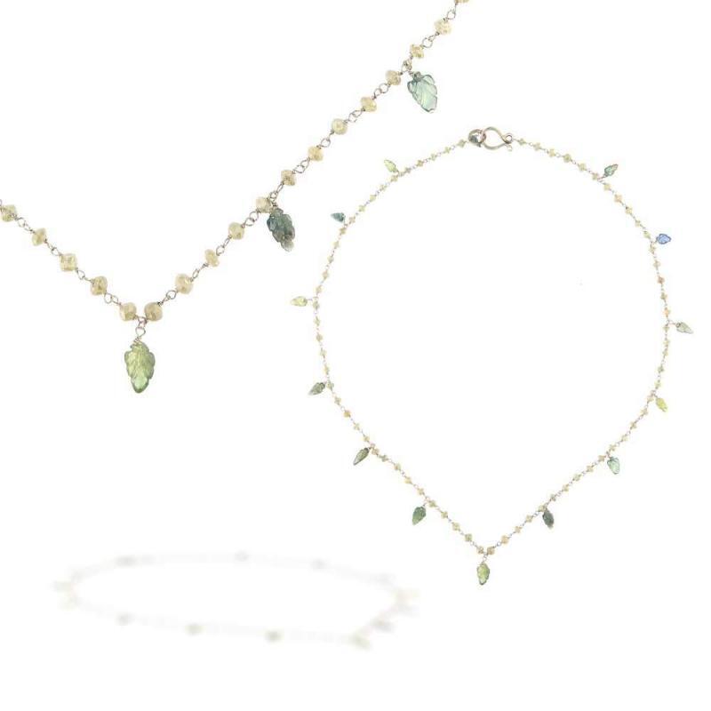 Rosario Diamanti Fancy e Zaffiri