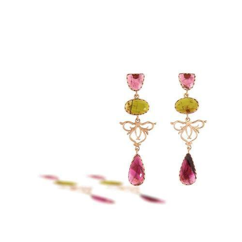 """Cecile Tourmaline Fancy Bezel <BR/><span class=""""disponibile"""">Available at our store<BR/>in Monza</span>"""